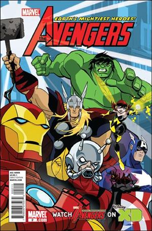 Avengers: Earth's Mightiest Heroes (2011) 2-A