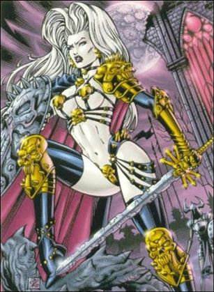 Lady Death and the Women of Chaos!: Love Bites (Base Set) 9-A
