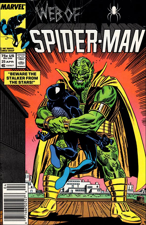 Web of Spider-Man (1985) 25-A by Marvel
