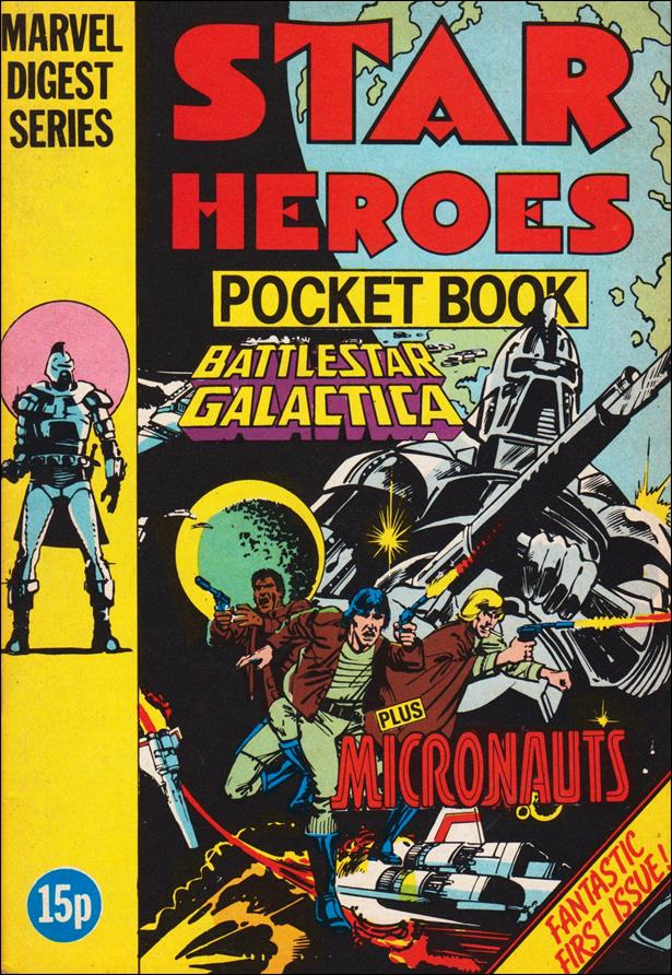 Star Heroes Pocket Book (UK) 1-A by Marvel UK