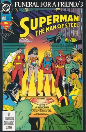 Superman: The Man of Steel 20-A