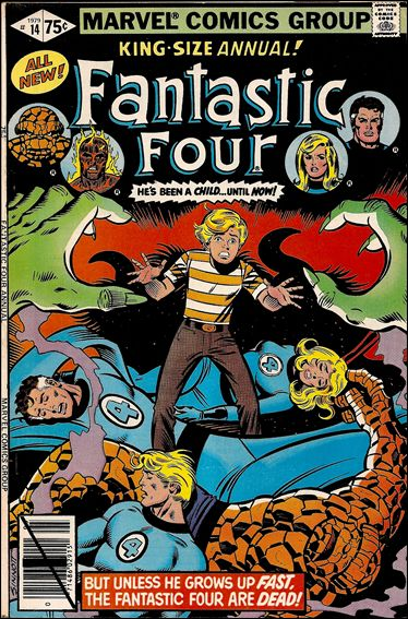 Fantastic Four Annual  14-A by Marvel