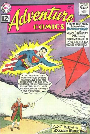 Adventure Comics (1938) 296-A by DC