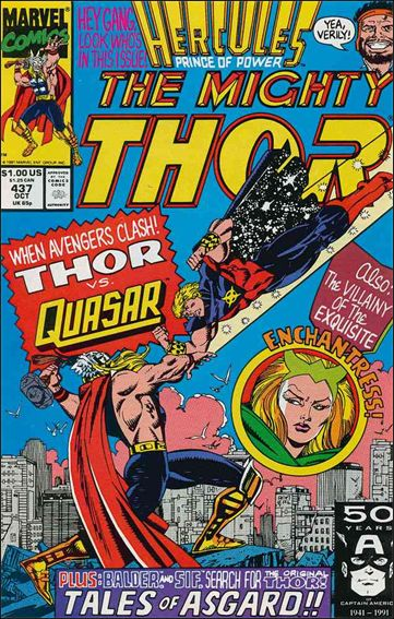 Thor (1966) 437-A by Marvel