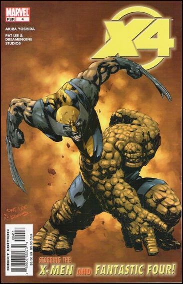 X-Men/Fantastic Four 4-A by Marvel