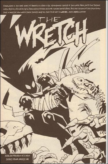 Wretch (1997) Ashcan-A by Amaze Ink