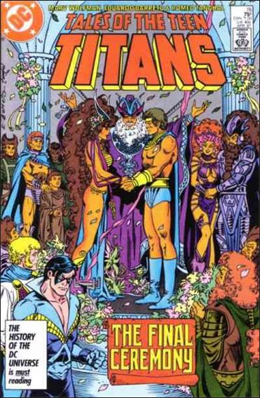 Tales of the Teen Titans 76-A by DC