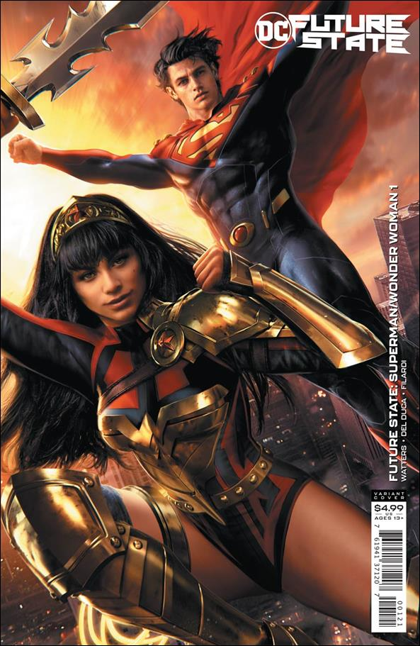 Future State: Superman / Wonder Woman 1-B by DC