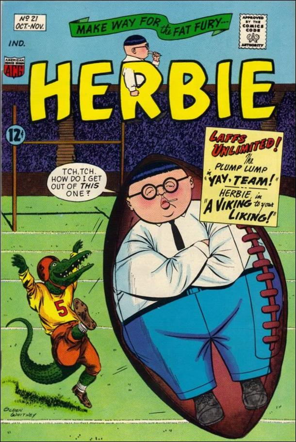 Herbie (1964) 21-A by American Comics Group (ACG)