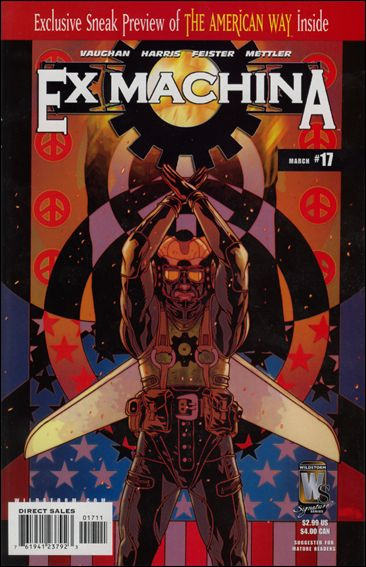 Ex Machina 17-A by WildStorm