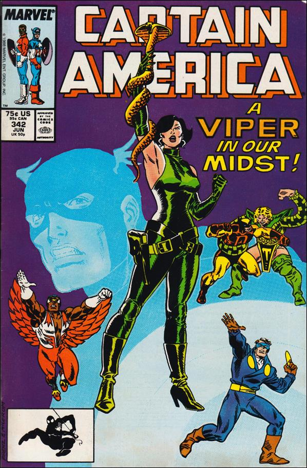 Captain America (1968) 342-A by Marvel