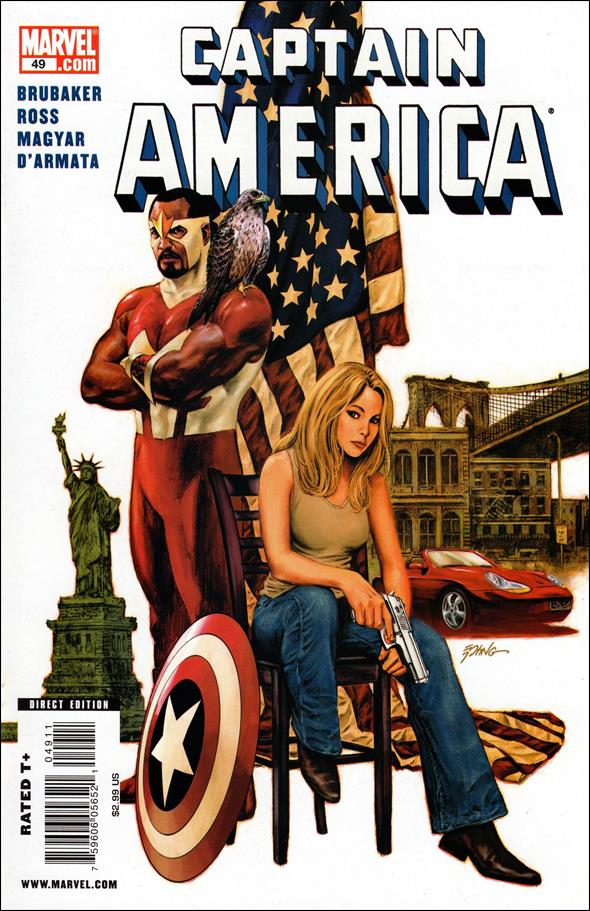 Captain America (2005) 49-A by Marvel