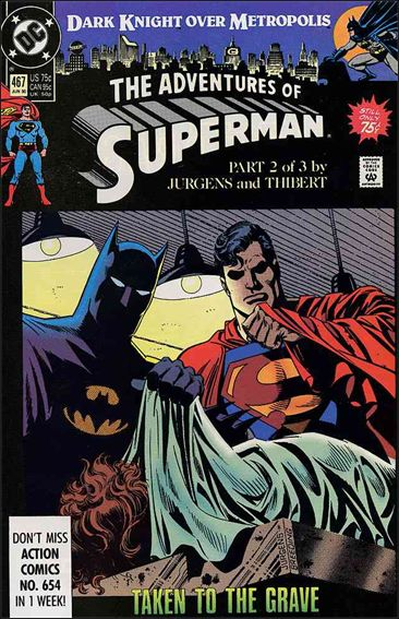 Adventures of Superman (1987) 467-A by DC