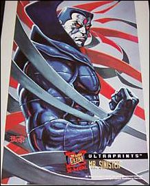 1995 Fleer Ultra X-Men (Ultraprints Subset) 8-A by Fleer