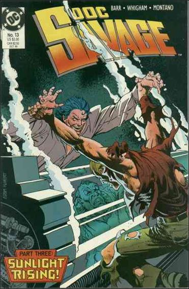 Doc Savage (1988) 13-A by DC