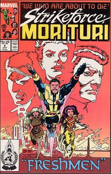 Strikeforce: Morituri 8-A by Marvel