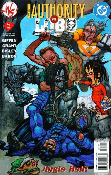 Authority/Lobo: Jingle Hell 1-A by WildStorm