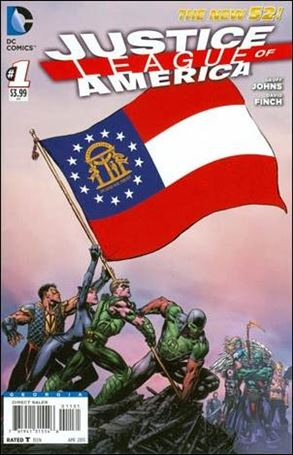 Justice League of America (2013)  1-MK