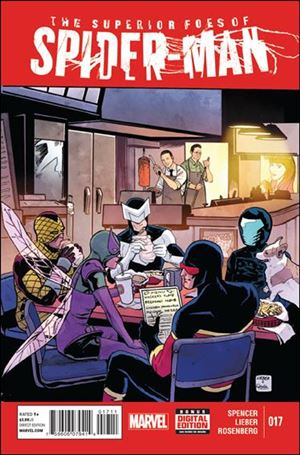 Superior Foes of Spider-Man 17-A