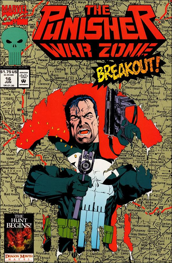 Punisher: War Zone (1992) 16-A by Marvel