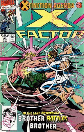 X-Factor (1986) 60-A