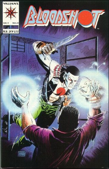 Bloodshot (1993) 9-A by Valiant