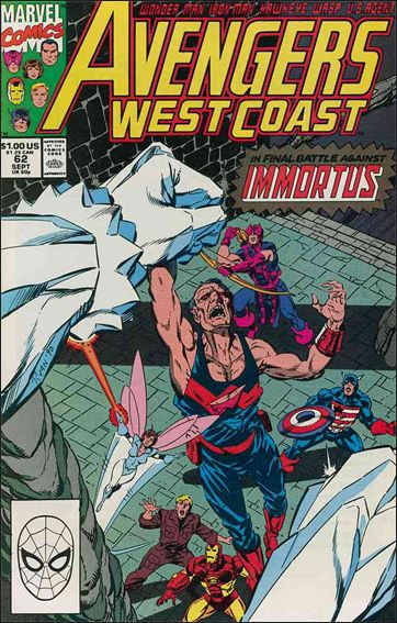 Avengers West Coast 62-A by Marvel