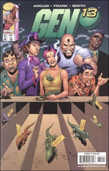Gen13 (1995) 31-A by WildStorm