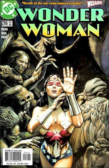 Wonder Woman (1987) 216-A by DC