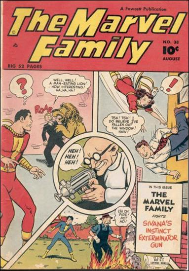 Marvel Family 38-A by Fawcett