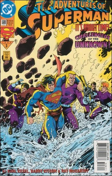 Adventures of Superman (1987) 508-A by DC