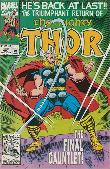 Thor (1966) 457-A by Marvel