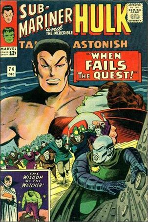 Tales to Astonish (1959) 74-A
