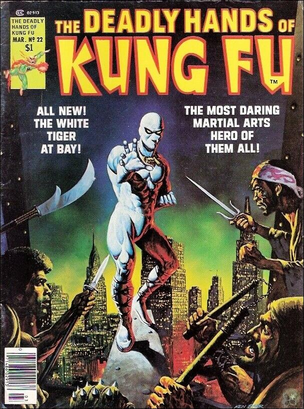 Deadly Hands of Kung Fu (1974) 22-A by Marvel