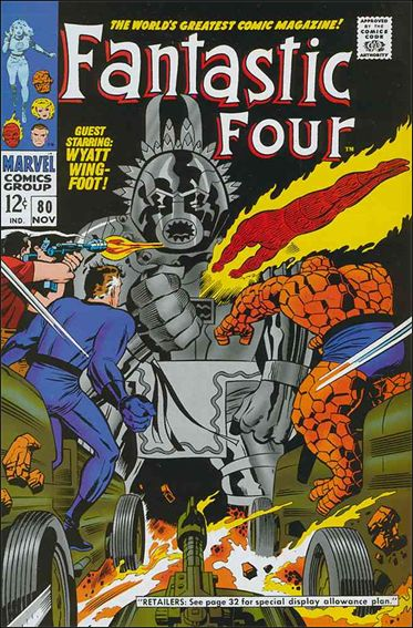 Fantastic Four (1961) 80-A by Marvel
