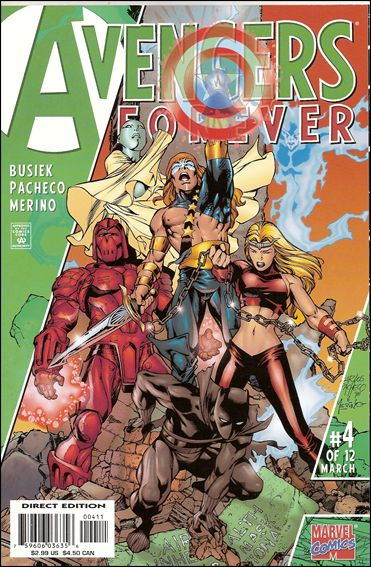 Avengers: Forever 4-A by Marvel