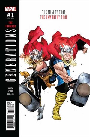 Generations: The Unworthy Thor & The Mighty Thor 1-B