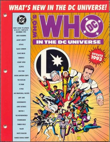 Who's Who in the DC Universe Update 1993 1-A by DC