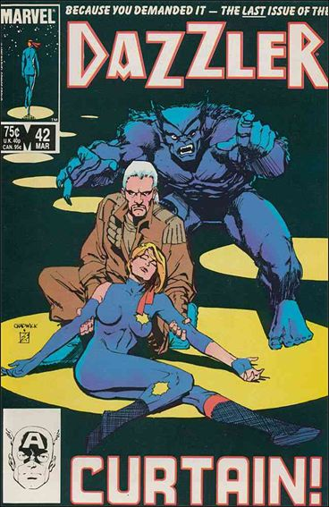 Dazzler (1981) 42-A by Marvel