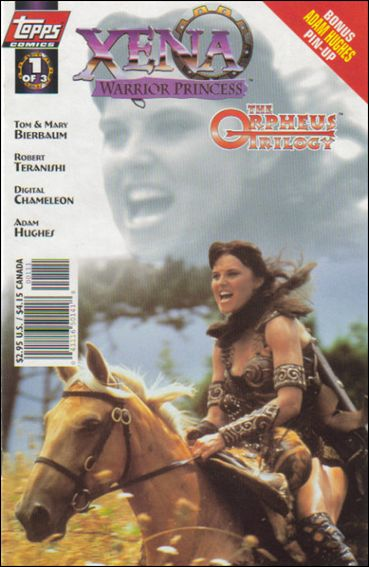 Xena: Warrior Princess: The Orpheus Trilogy 1-A by Topps