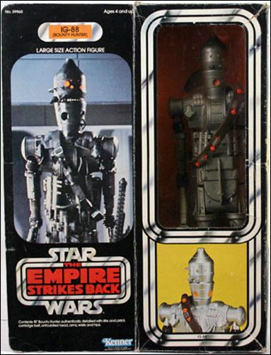 "Star Wars: 12"" Basic Action Figures (Vintage) IG-88 (Bounty Hunter) by Kenner"