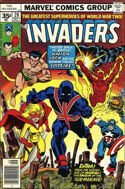 Invaders (1975) 20-B by Marvel