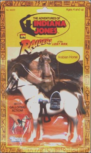 Adventures of Indiana Jones Vehicles and Playsets Arabian Horse by Kenner