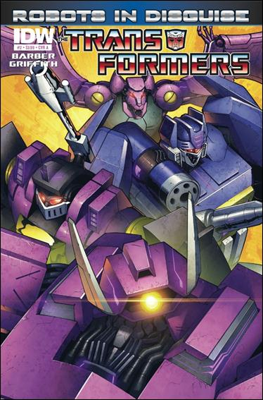 Transformers: Robots in Disguise (2012) 2-A by IDW