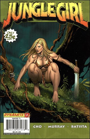 Jungle Girl (2007) 0-A by Dynamite Entertainment