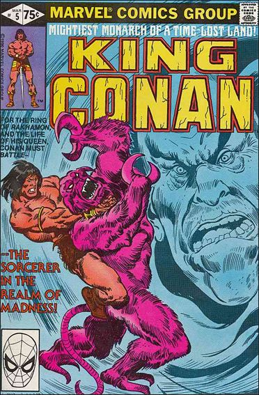 King Conan 5-A by Marvel