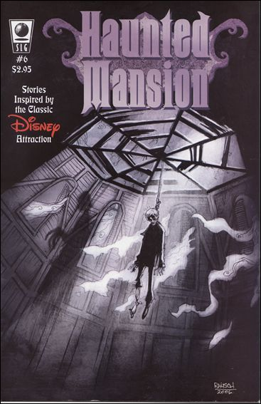 Haunted Mansion 6-A by Slave Labor Graphics (SLG) Publishing