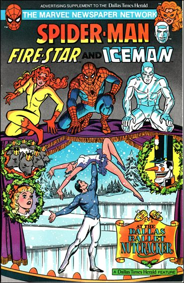 Spider-Man, Fire-star and Iceman at The Dallas Ballet Nutcracker 1-A by Marvel
