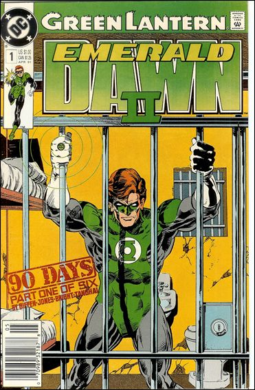 Green Lantern: Emerald Dawn II 1-A by DC