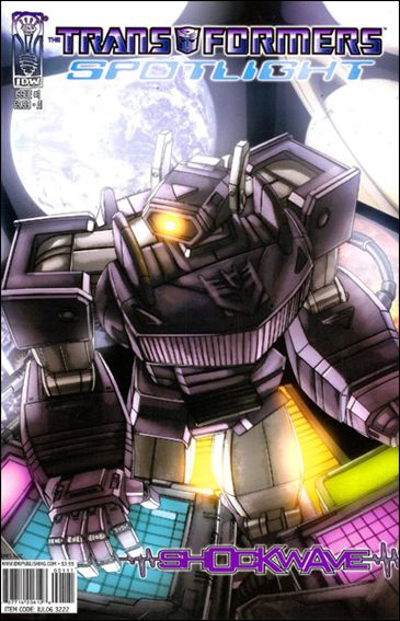 Transformers Spotlight 1-A by IDW